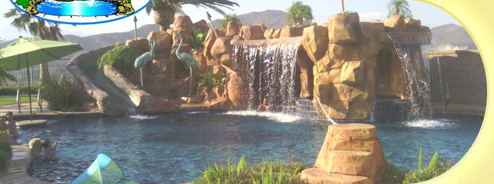 Custom swimming pool builders tropical breeze pools - Swimming pool builders california ...